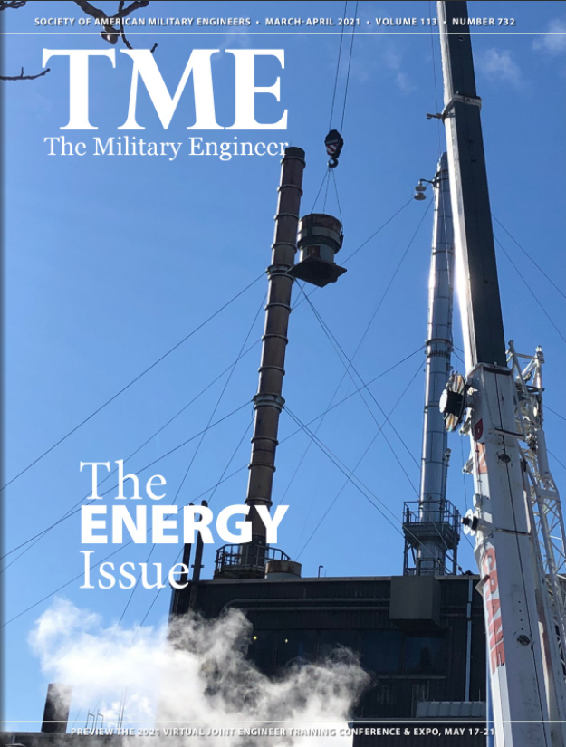 Military Engineer Spring Energy Issue 2021 Cover
