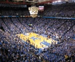 Rupp Arena is downtown Lexington