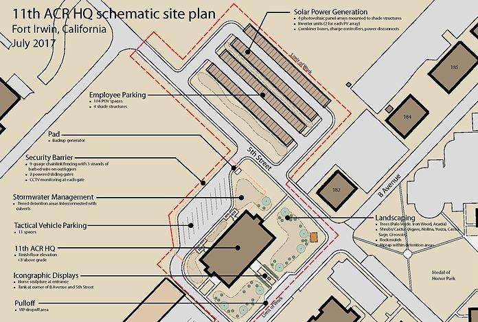 master planning schematic site plan