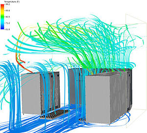 air-streamlines-for-server-cfd-analysis