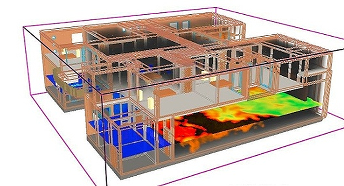 Security Heat Map illustration