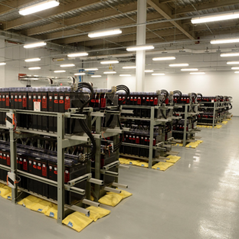 Electrical enginnering equipment room